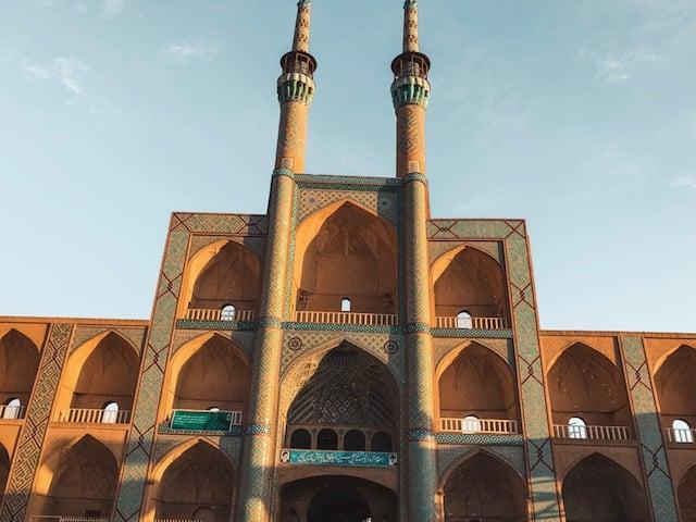 Yazd - traveling to Iran