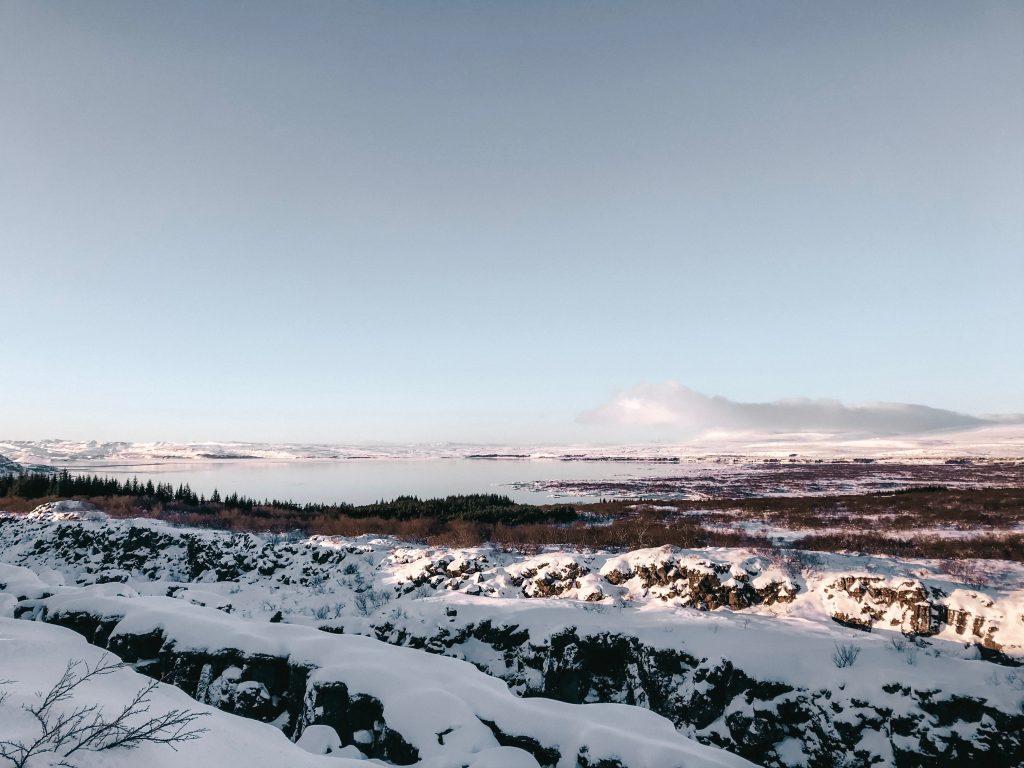 winter iceland golden circle