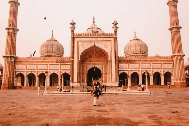 instagrammable india jama masjid