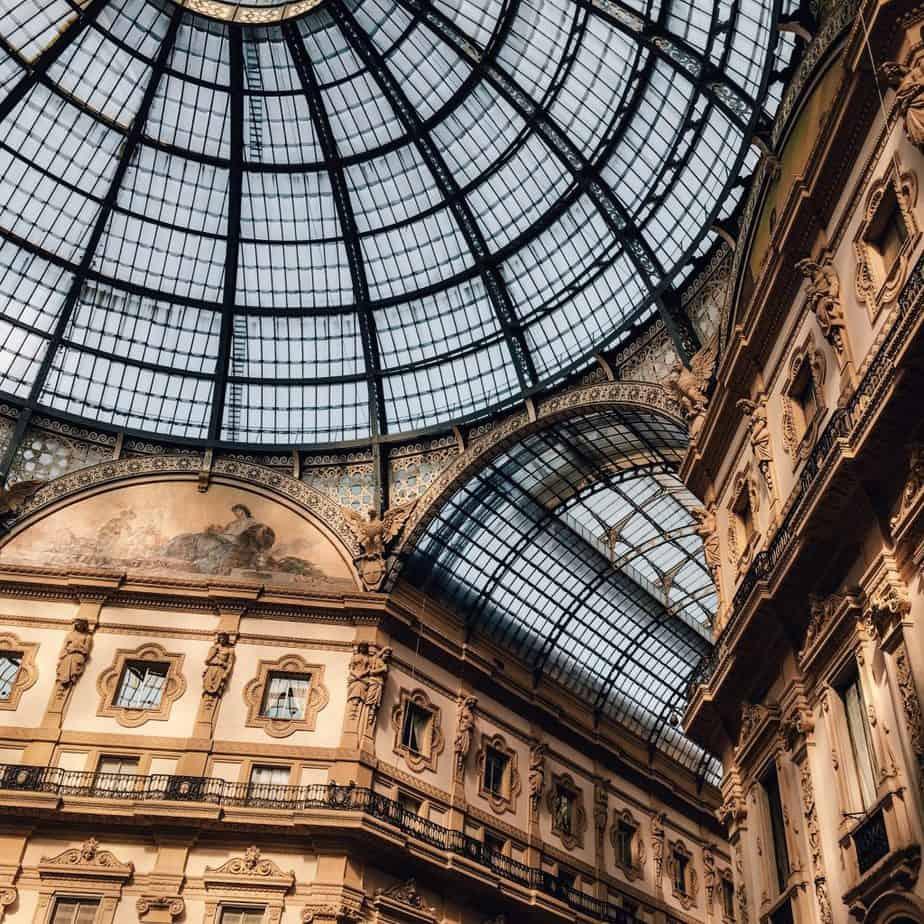 Milan Italy travel guide galleria