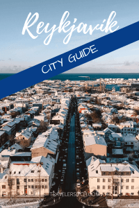 reykjavik city guide pin