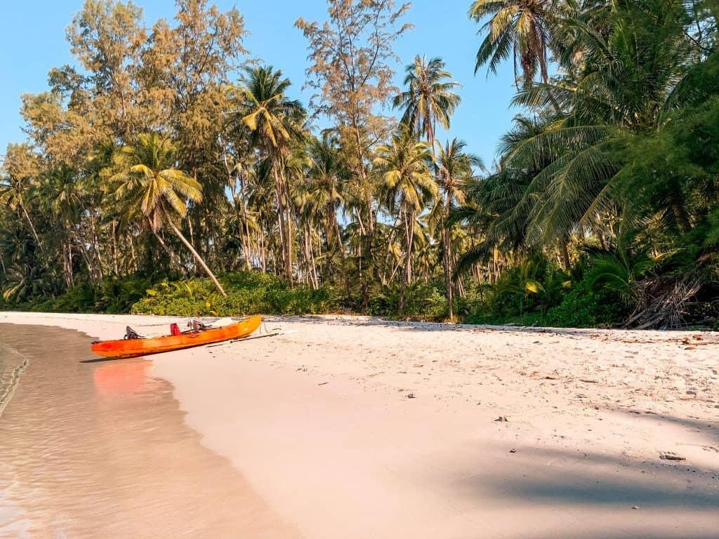 koh kood beach kayak
