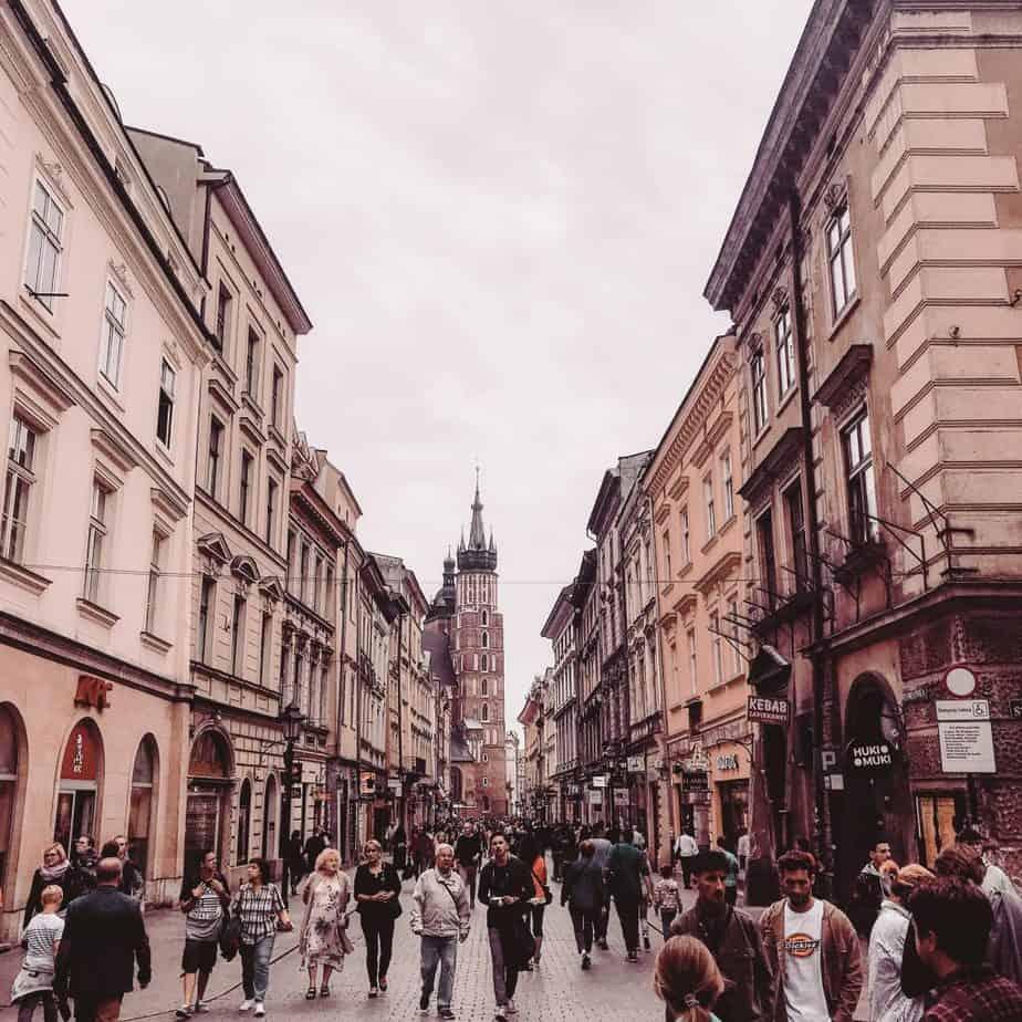 krakow winter destination