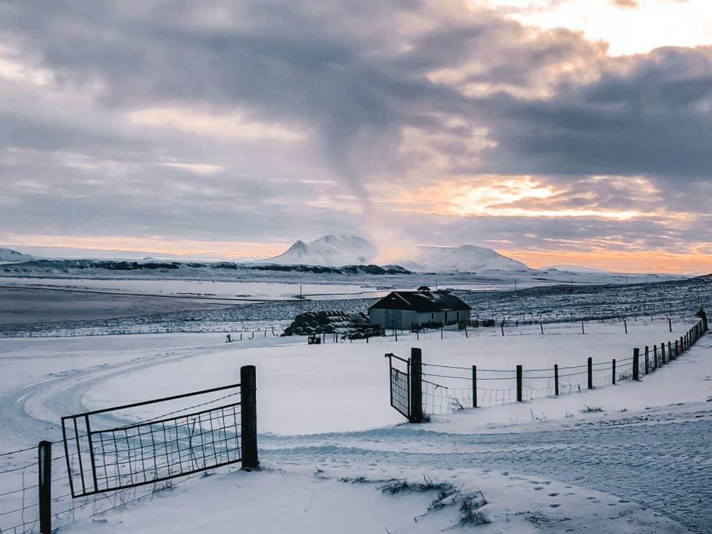 beautiful winter destinations iceland