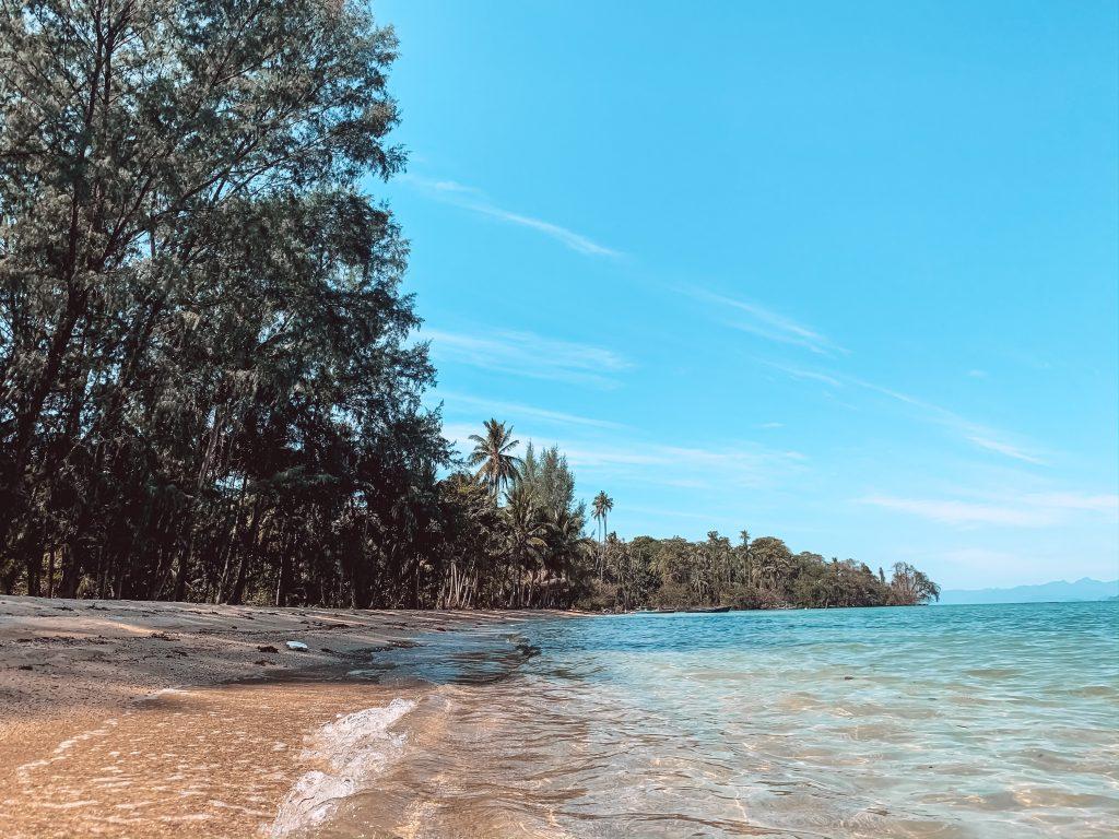 beach at Koh Mak Thailand