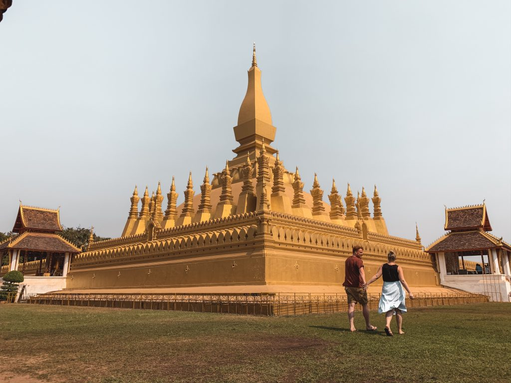 couple in Vientiane Laos travel review