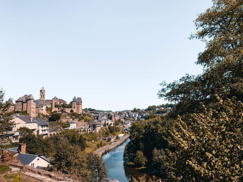 uzerche france river view