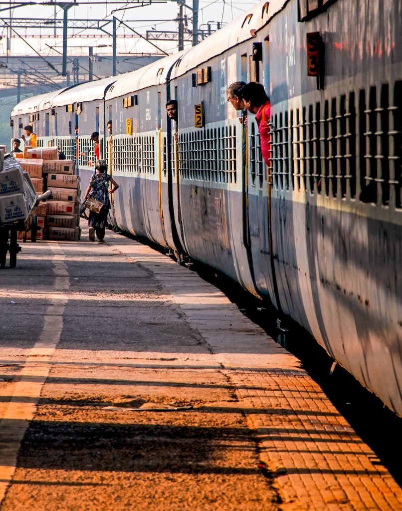 india trainstation